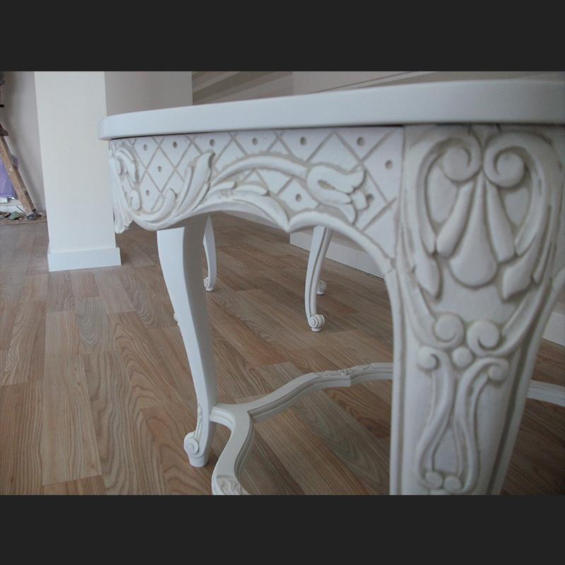 detalle lacado mesa centro