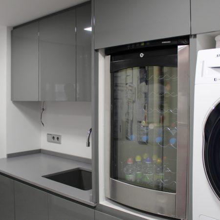 mobiliario lavadero lacado