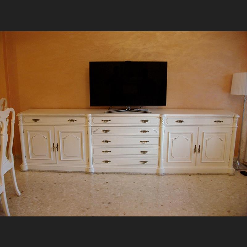 mueble clásico recuperado lacado