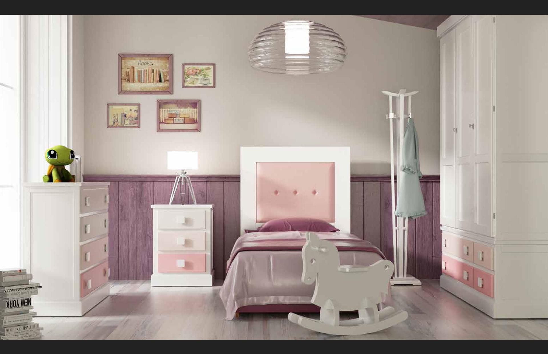 mueble habitación niña