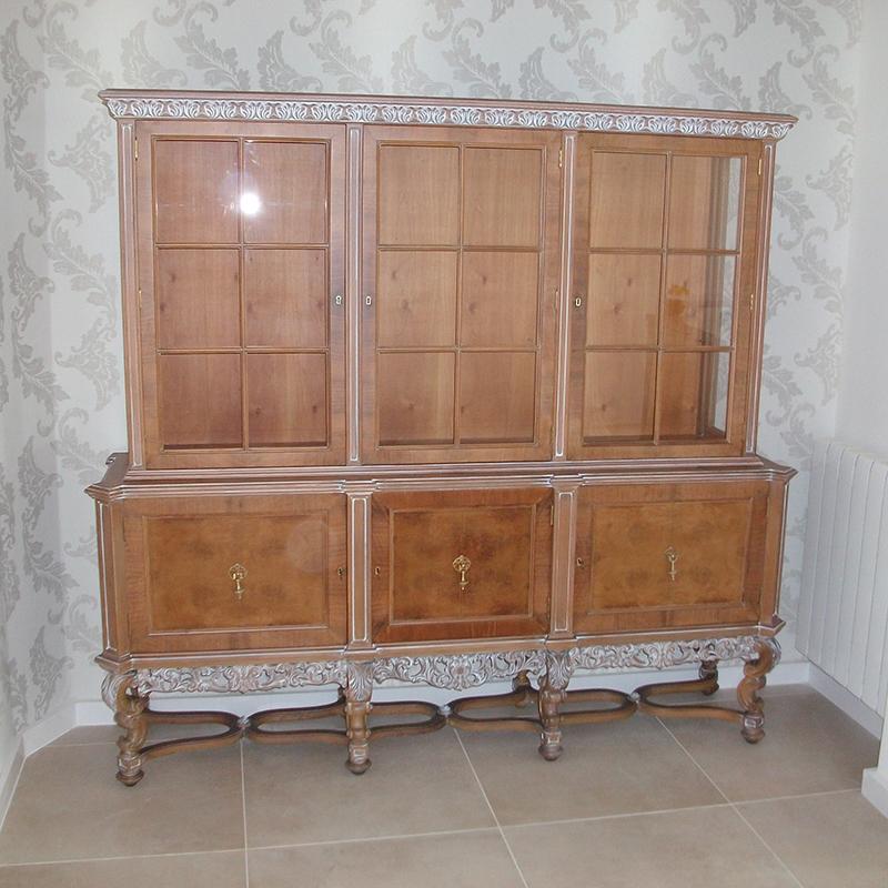 mueble mostrador recuperado