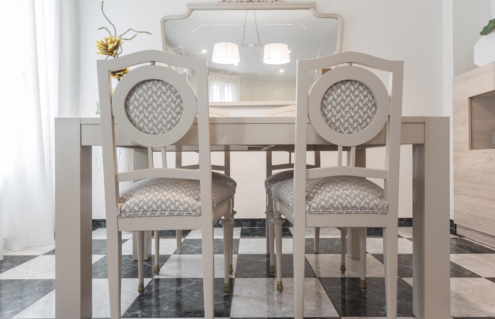mueble recuperado comedor