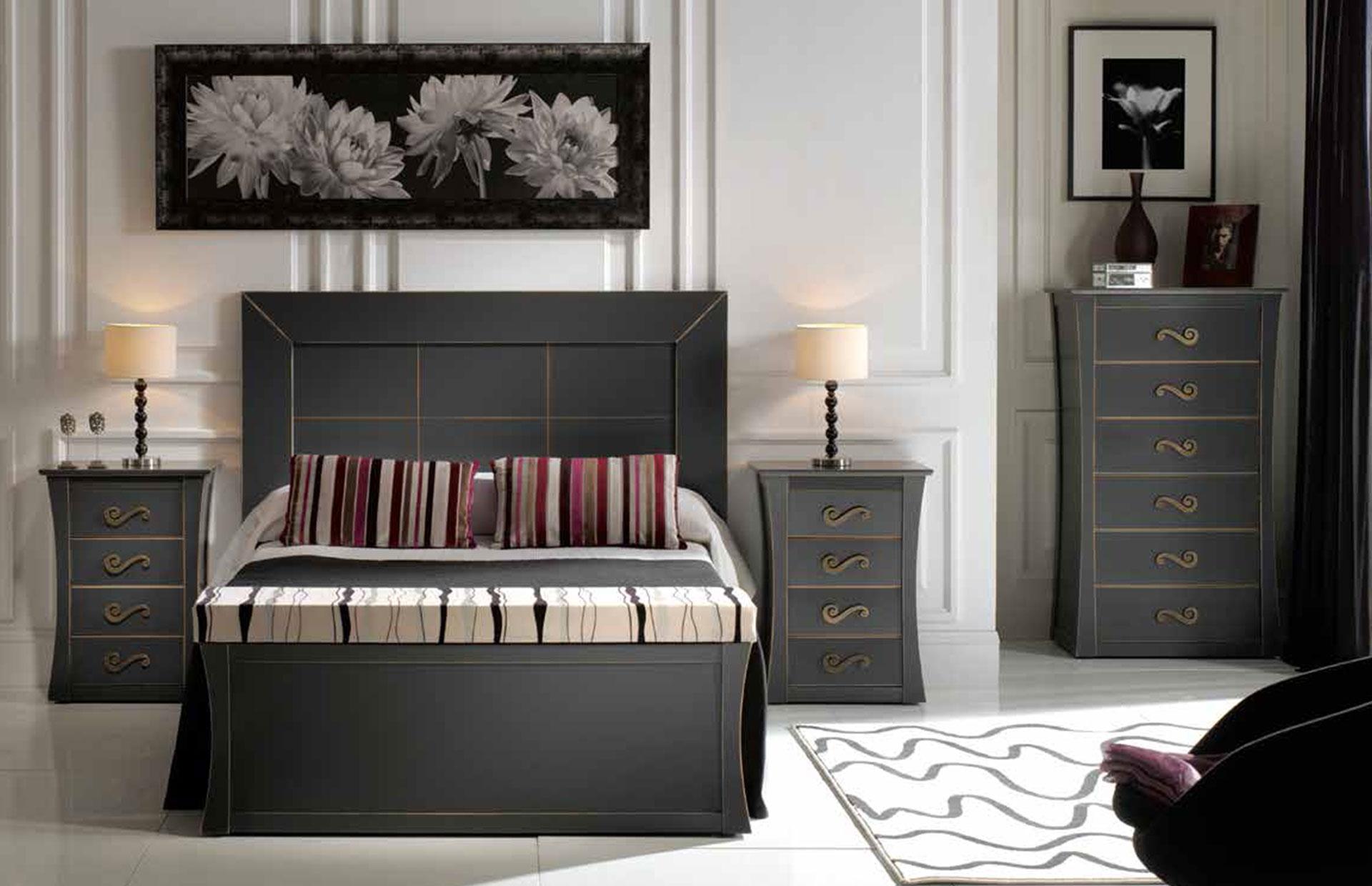 muebles de dormitorio estilo clásico
