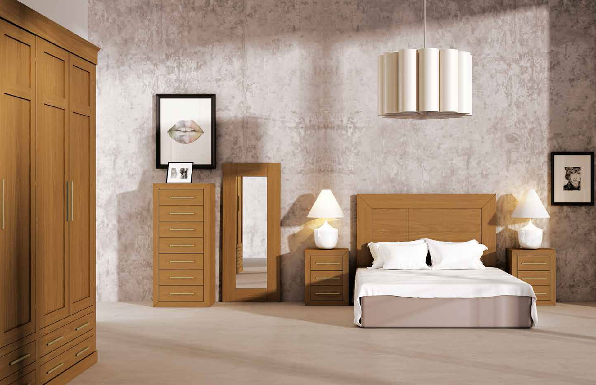 muebles sencillos de dormitorio