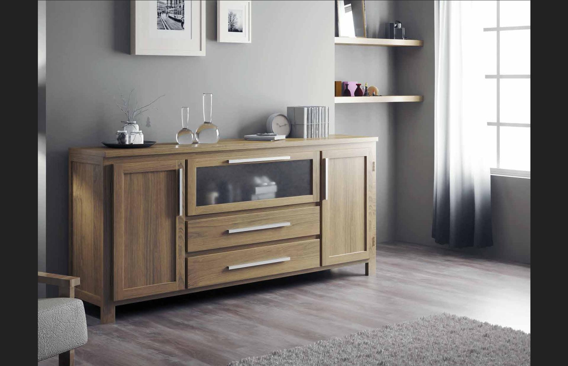 mueble consola madera natural