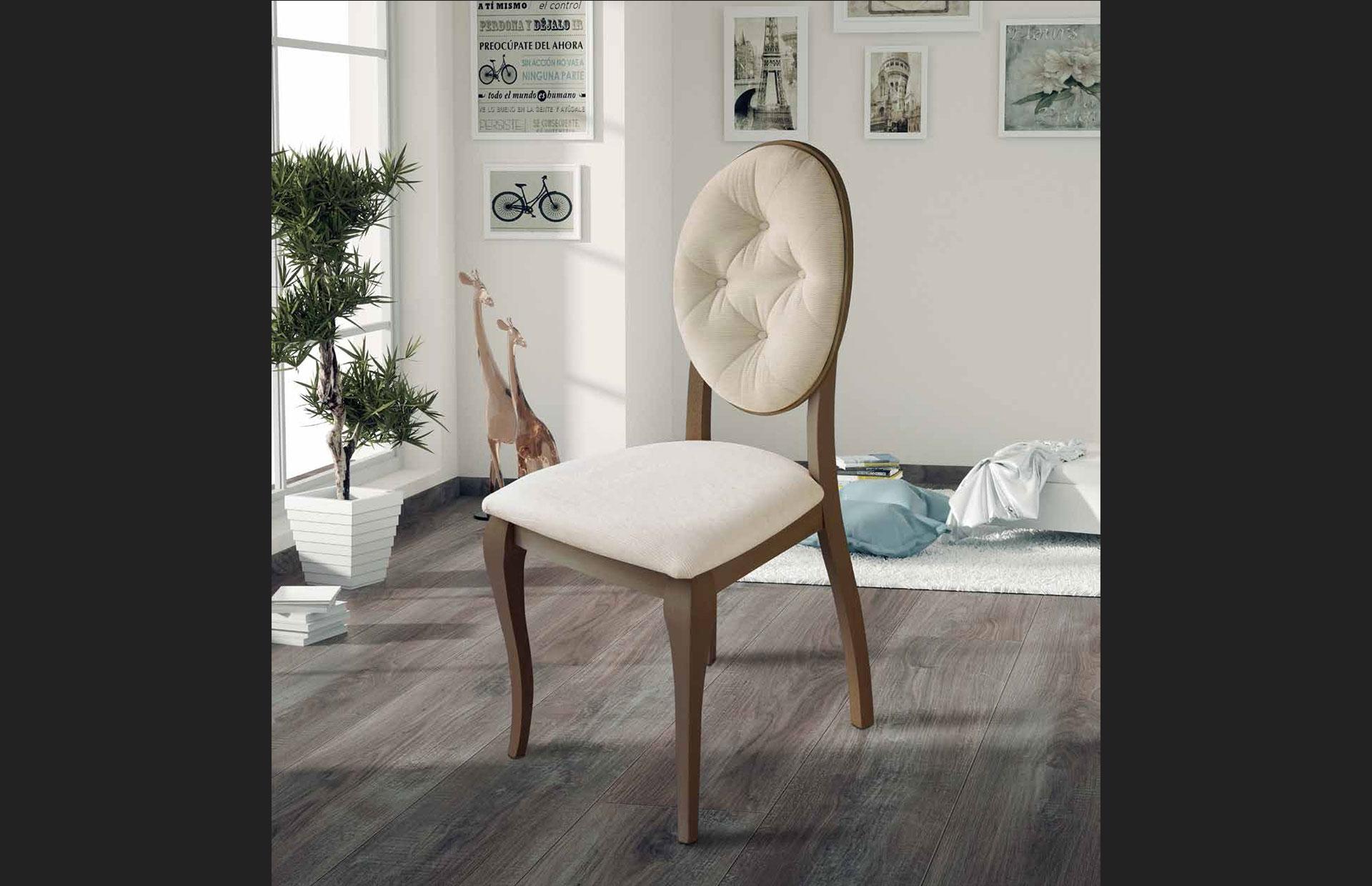 silla clásica lacada fantasía